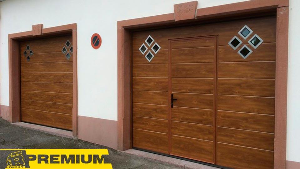 дизайнерские гаражные ворота