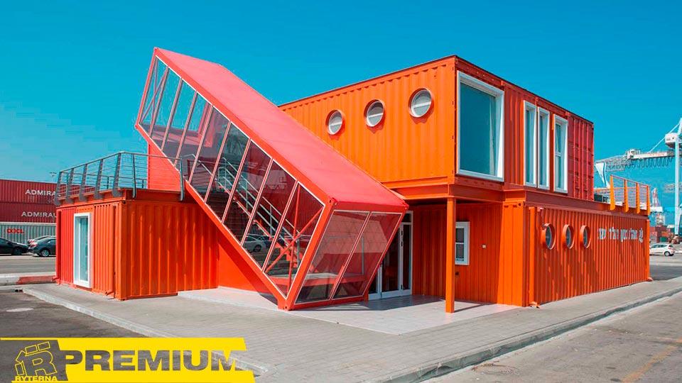 Модульные здания в Украине