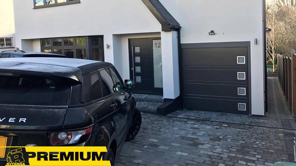Уникальный дизайн гаражных ворот в Киеве