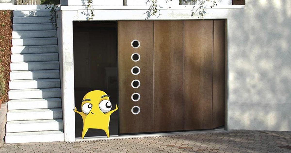 Купить гаражные ворота Ритерна в Киеве