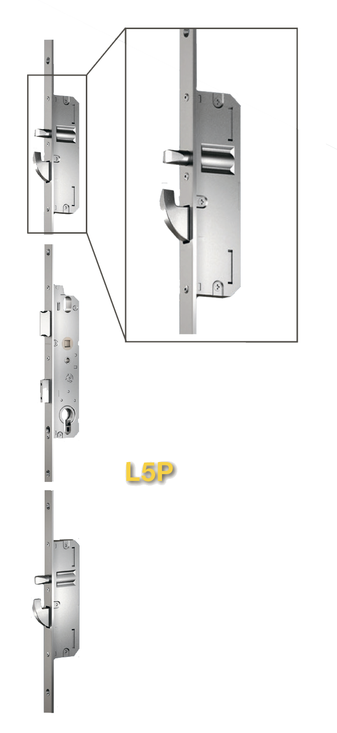 На картинке 3-точечный замок L3P