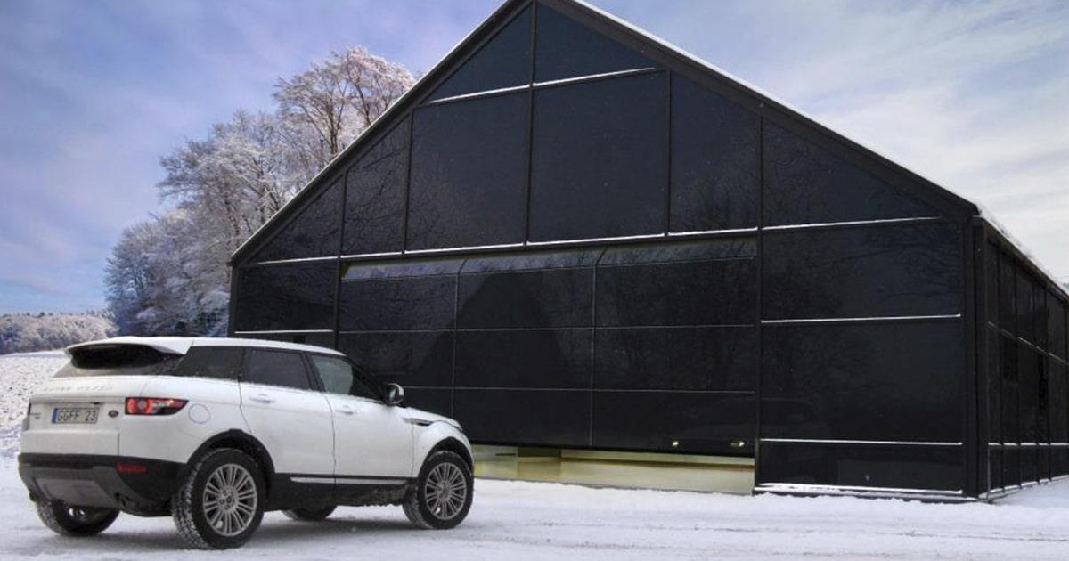 Купить секционные гаражные ворота Ритерна в Киеве